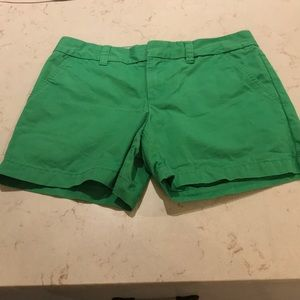 Tommy Hilfiger Kelly green shorts SZ 4